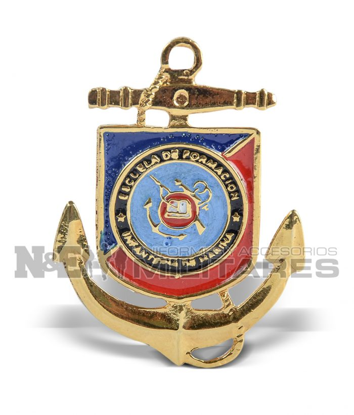 Distintivo Escuela de infantería Marina