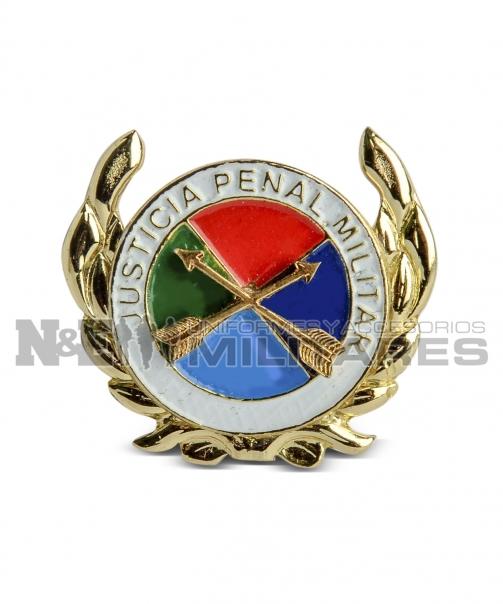 Distintivo justicia penal militar