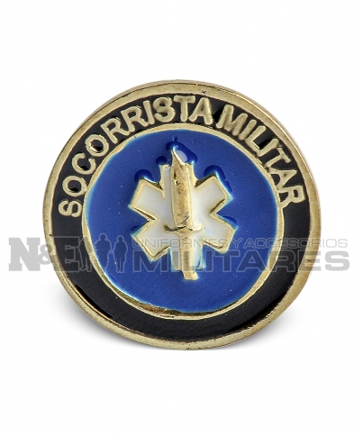 Distintivo Socorrista Militar
