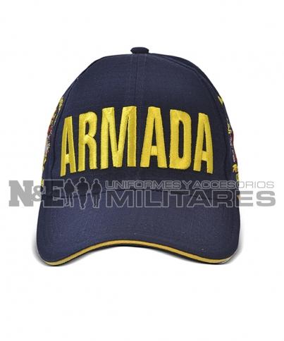 Gorra Azul 2 Escudos